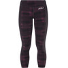 2XU Compression 7/8 Tights Women with Storage Black/Peacock Pink Broken Lines